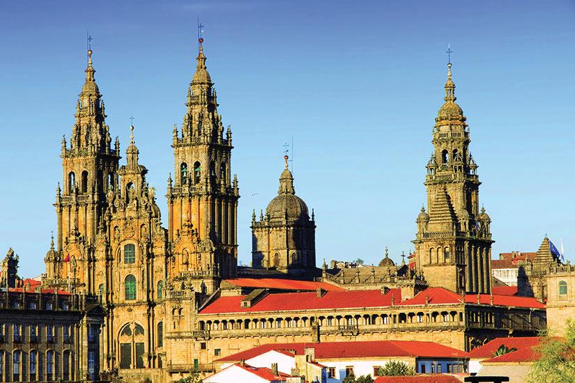 image Espagne Santiago de Compostela Cathedrale Saint Jacques de Compostelle  fo