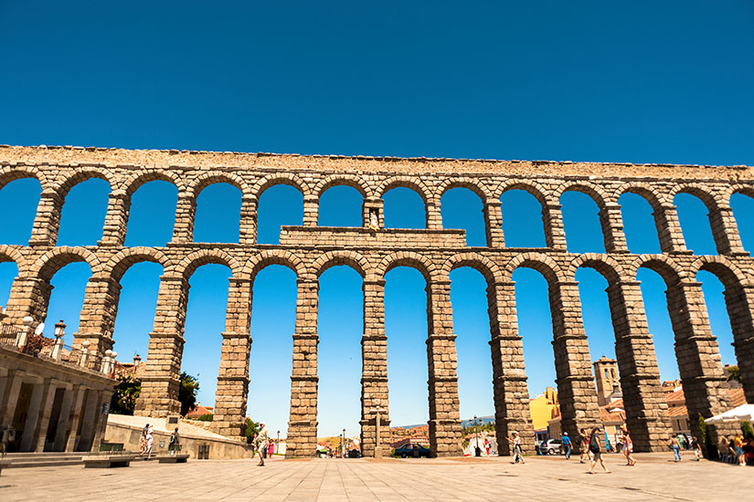image Espagne Segovie Aqueduc romain  it