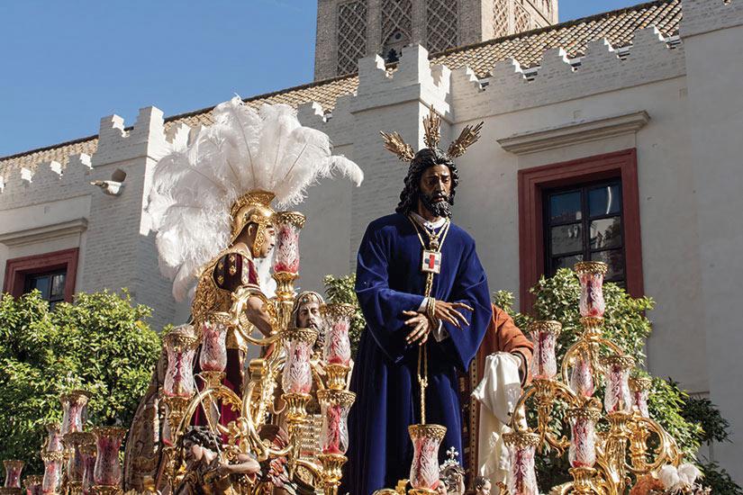 image Espagne Seville Jesus en captivite et sauves  fo
