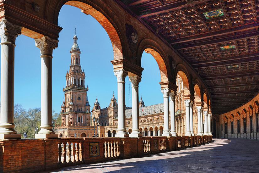image Espagne Seville Plaza de Espana 04 as_34399639