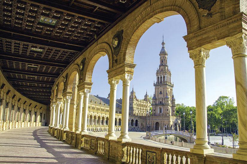 image Espagne Seville Plaza de Espana  it