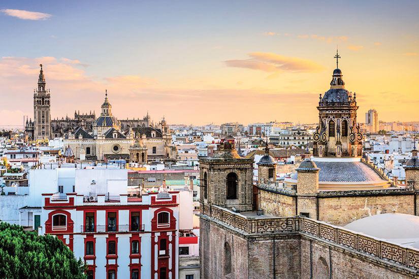 image Espagne Seville Vue panoramique  it