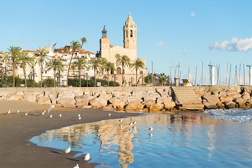 image Espagne Sitges Eglise Saint Barthelemy et Santa Tecla 22 as_98082218