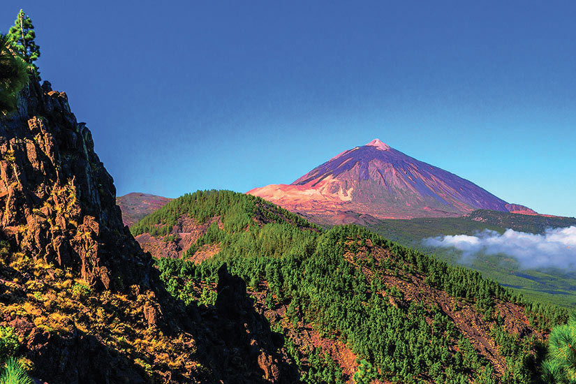 image Espagne Tenerife Montagne Teide Vallee Orotava Panorama  fo