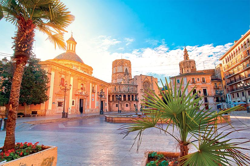 image Espagne Valence Plaza de la Virgen 10 as_132162400