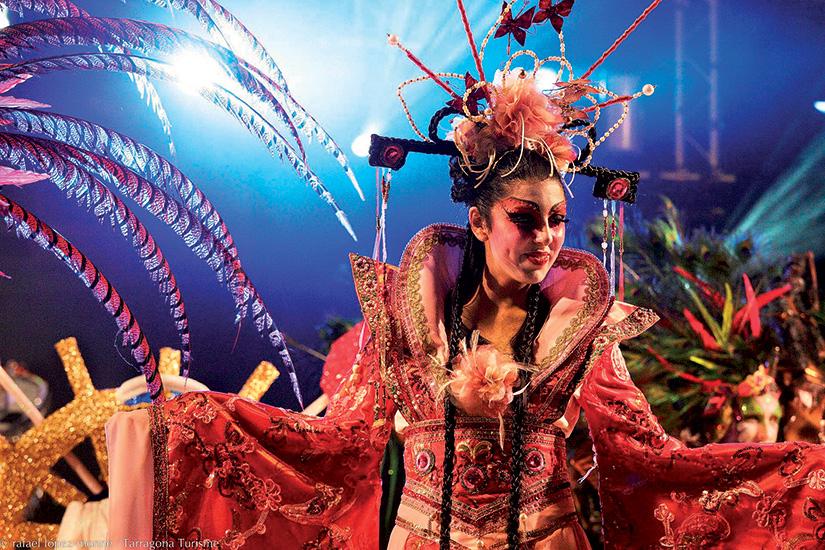 image Espagne carnaval de tarragone