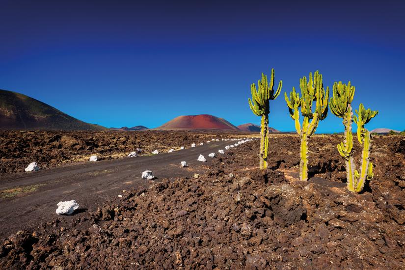 image Espagne iles canaries lanzarote national timanfaya route montagnes feu 87 as_117900976