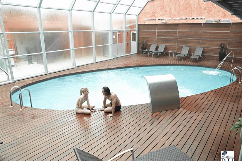 image Espagne lloret de mar hotel rosamar et spa  piscine interieur