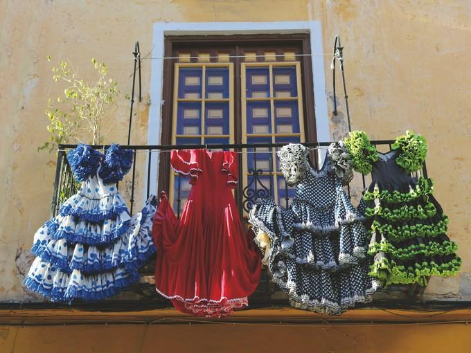 image Espagne malaga balcon