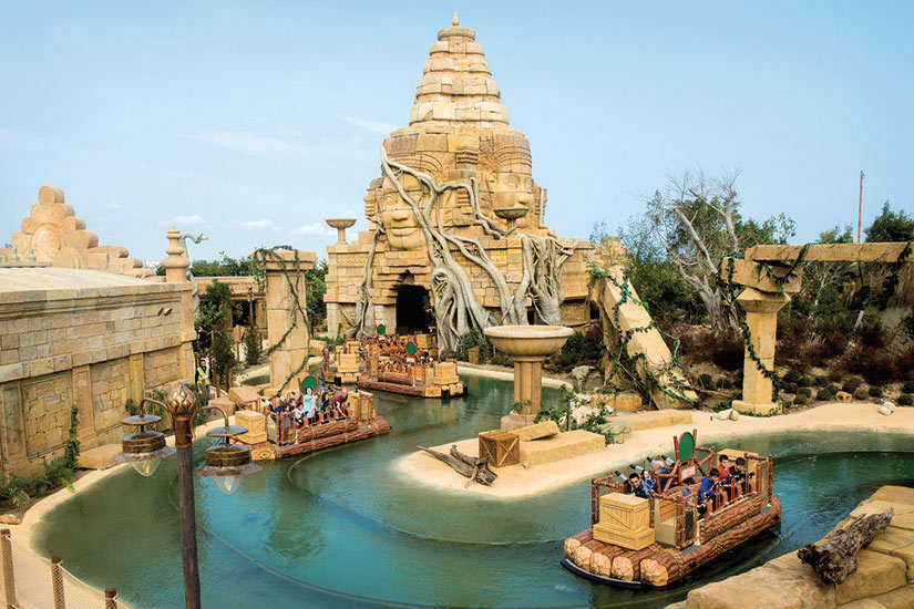 image Espagne salou Port Aventura Angkor