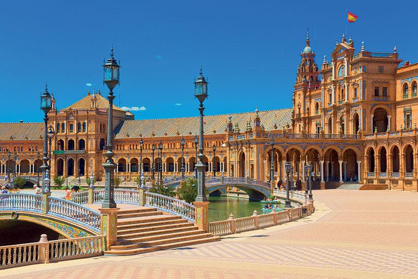 image Espagne seville la place d espagne fo