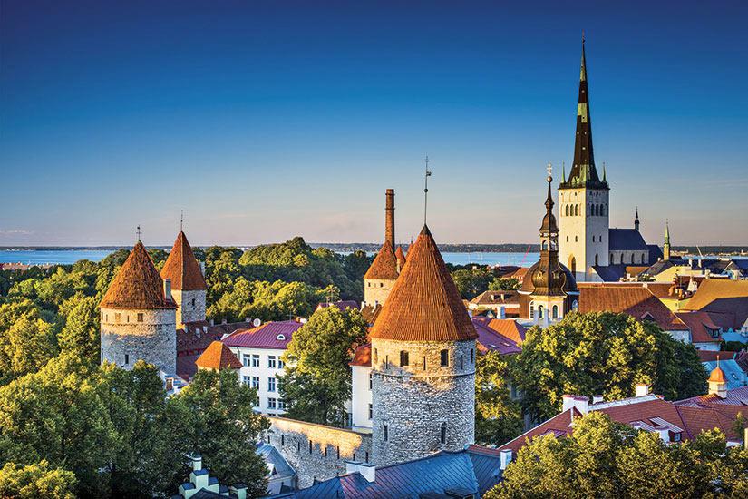 image Estonie Tallin Panorama  fo
