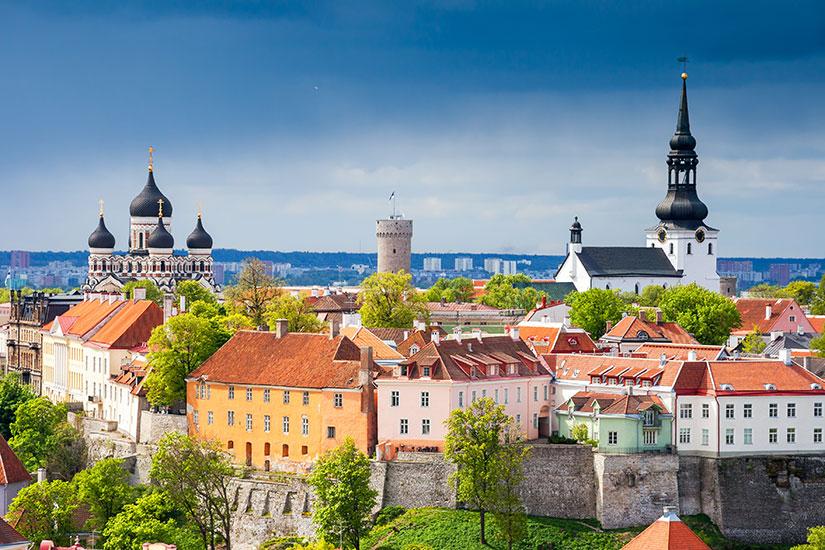 image Estonie Tallinn panorama  fo