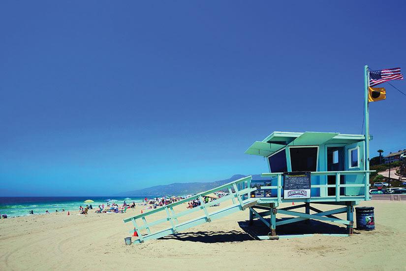 image Etas Unis Los Angeles Plage Malibu  it
