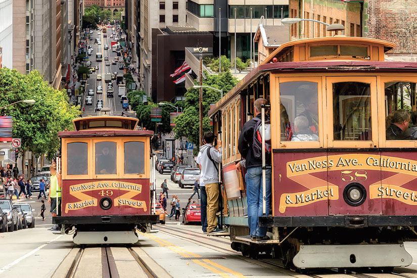 image Etats Unis Californie San Francisco cable voitures  fo