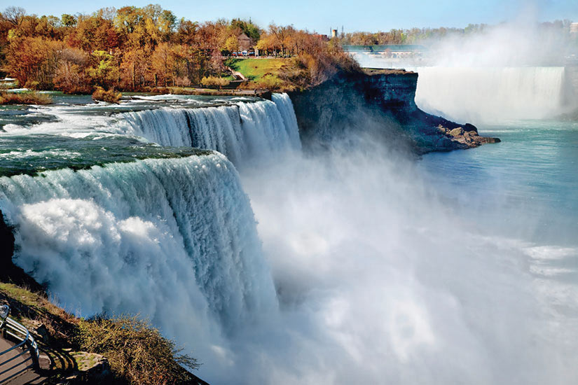 image Etats Unis Chutes Niagara automne  it