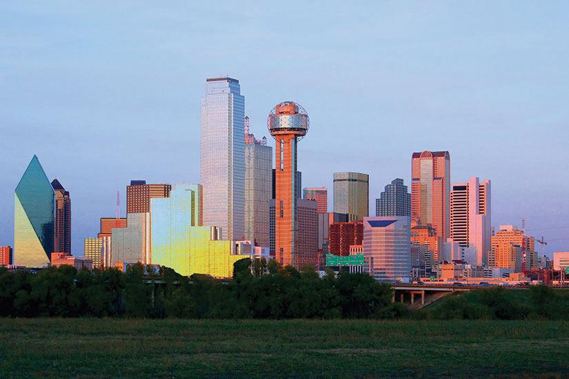 image Etats Unis Dallas panoramique  fo
