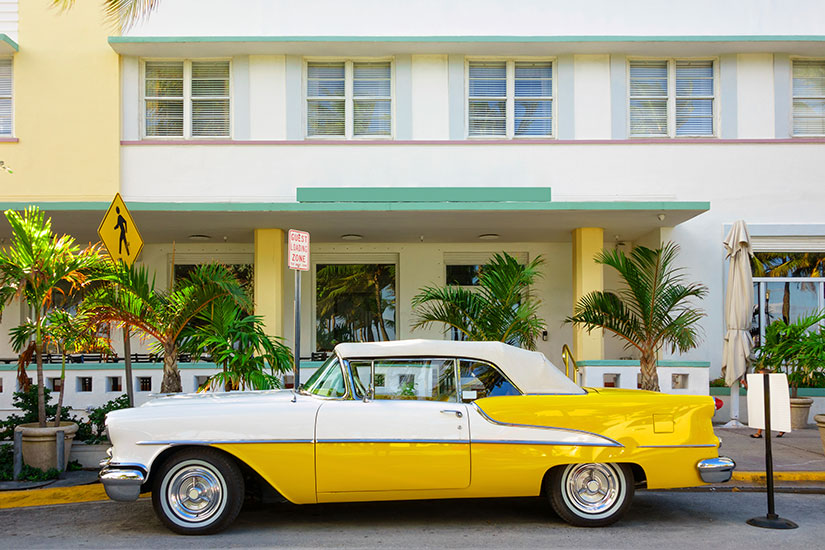 image Etats Unis Florida Miami Voiture  it