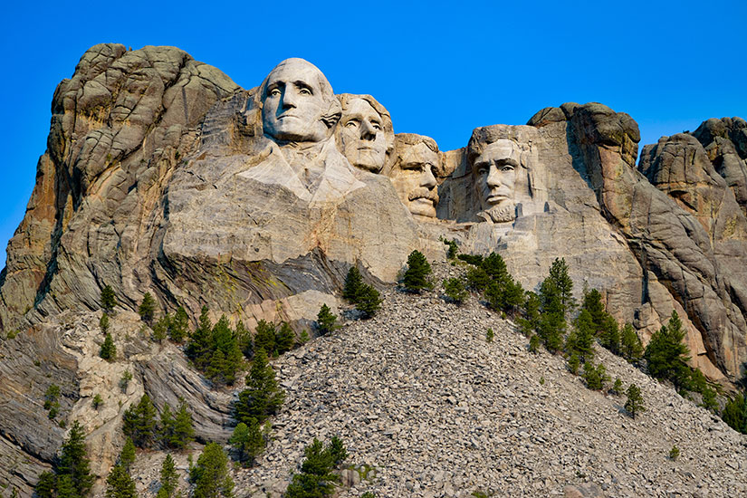 image Etats Unis Mont Rushmore  it