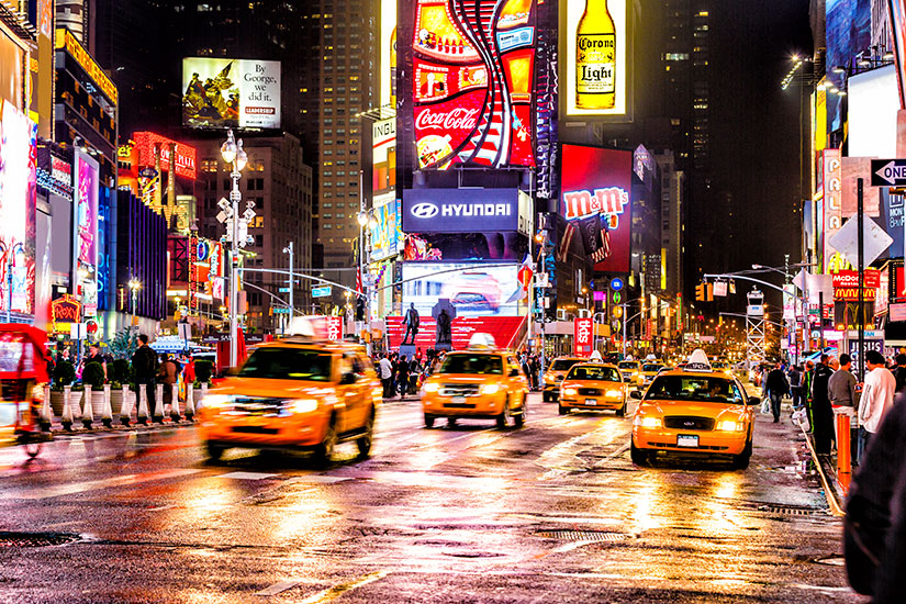 image Etats Unis New York th Avenue Times Square  it