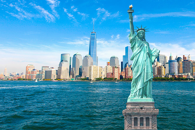 image Etats Unis New York Statue Liberte  it