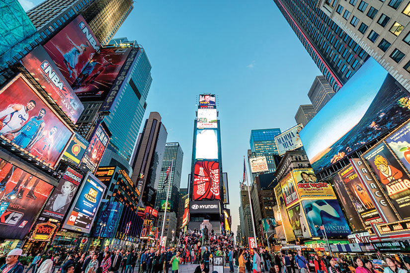 image Etats Unis New York Times Square  it