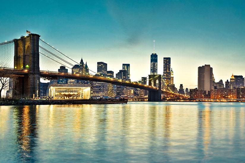 New York Carte Etats Unis Ville