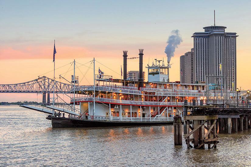image Etats Unis Nouvelle Orleans Mississippi riviere  fo