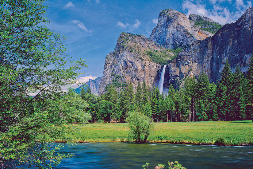 image Etats Unis Parc National Yosemite Panorama  it