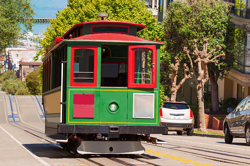 image Etats Unis San Francisco Tramway  it