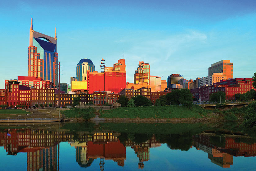 image Etats Unis Tennessee Nashville Panorama  it