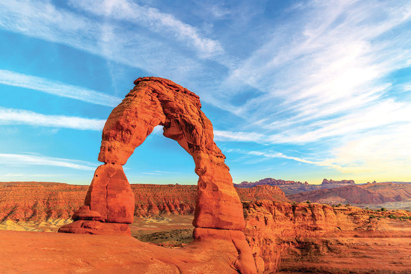 image Etats Unis Utah Arches parc national  fo