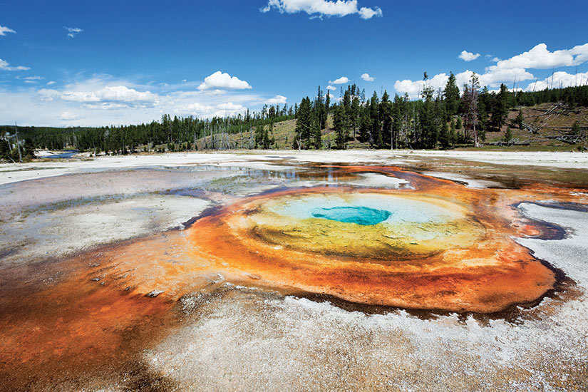 image Etats Unis Wyoming Parc national de Yellowstone Geyser Old Faithful  it