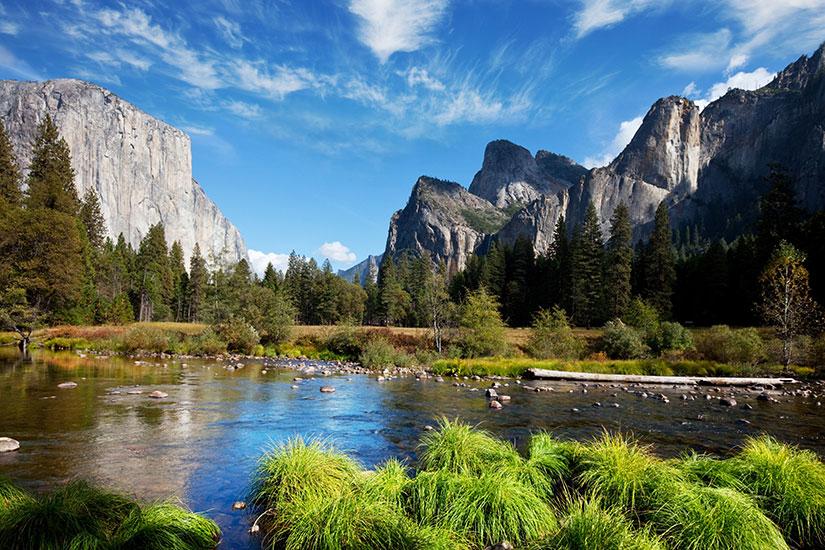 image Etats unis Yosemite parc Panorama  fo