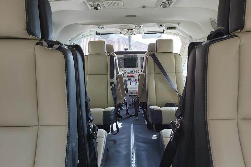 image Finist Air Cessna Grand Caravan interieur 02