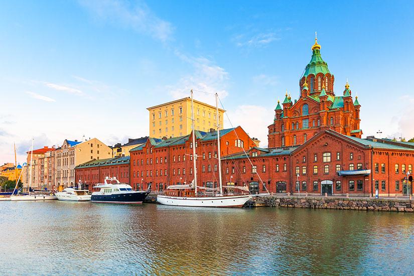 image Finlande Helsinki Vieille ville  fo