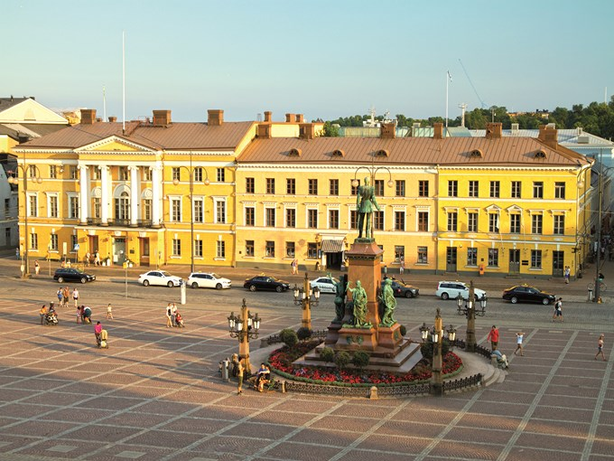 image Finlande helsinki place du senat