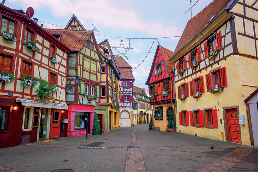 image France Alsace Colmar Maisons traditionnelles a colombages 01 as_99617827
