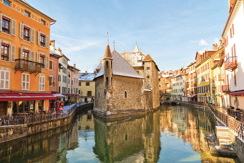 image France Annecy en hiver  fo