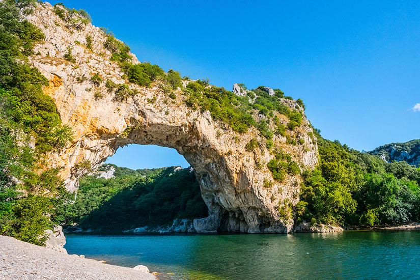 image France Ardeche pont naturel  it