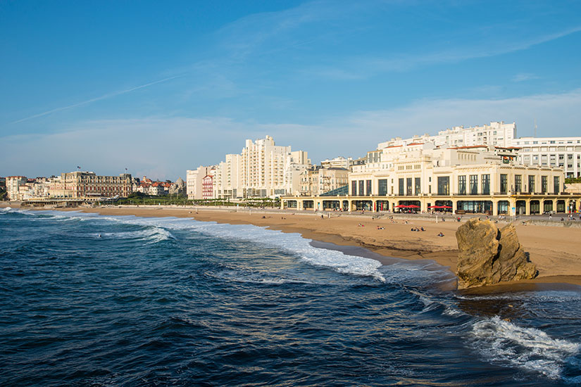 image France Biarritz Grande Plage  it