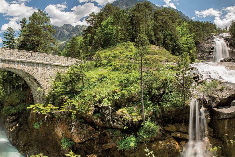 image France Cauterets Pont d Espagne  fo