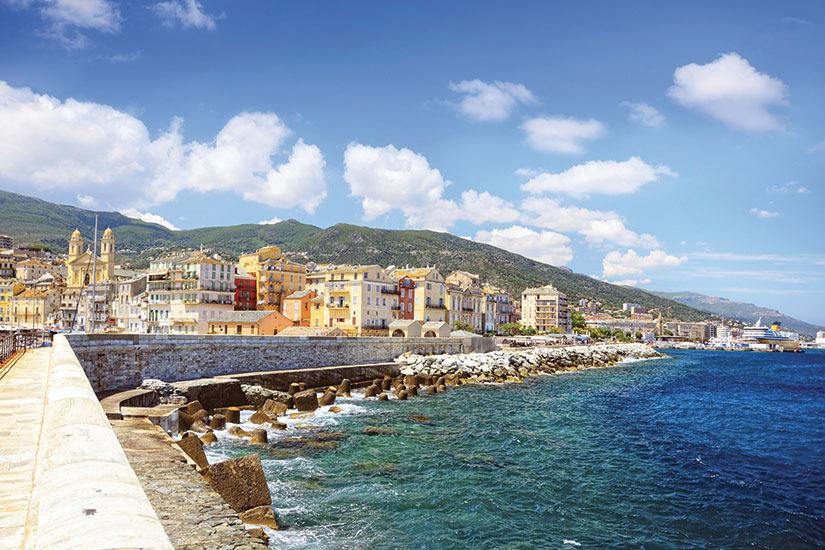 image France Corse Bastia Port Panorama  it