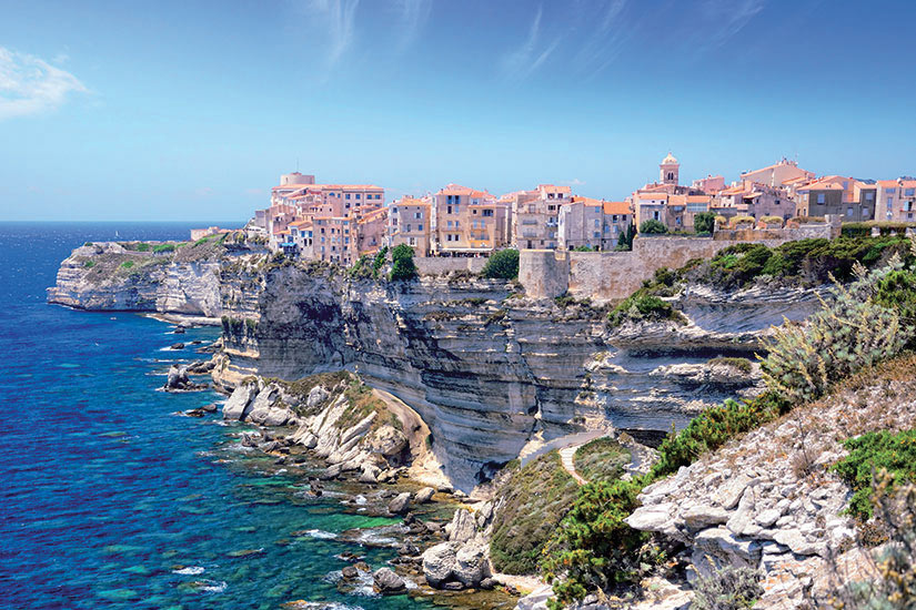image France Corse Bonifacio Falaises  it