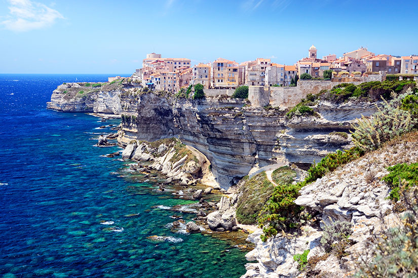 image France Corse Falaises Bonifacio  it