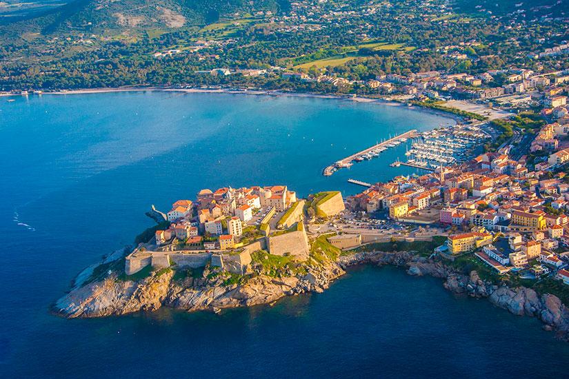 image France Corse vue aerienne  fo
