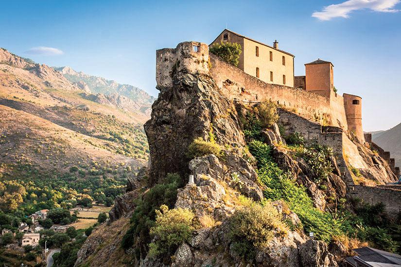 image France Corte Matin paysages de la citadelle  it