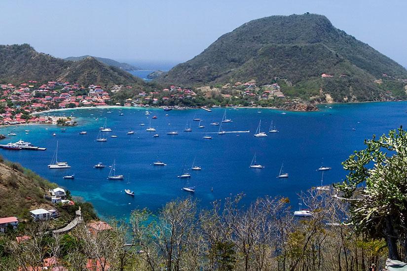image France Guadeloupe Baie Saintes panorama  fo