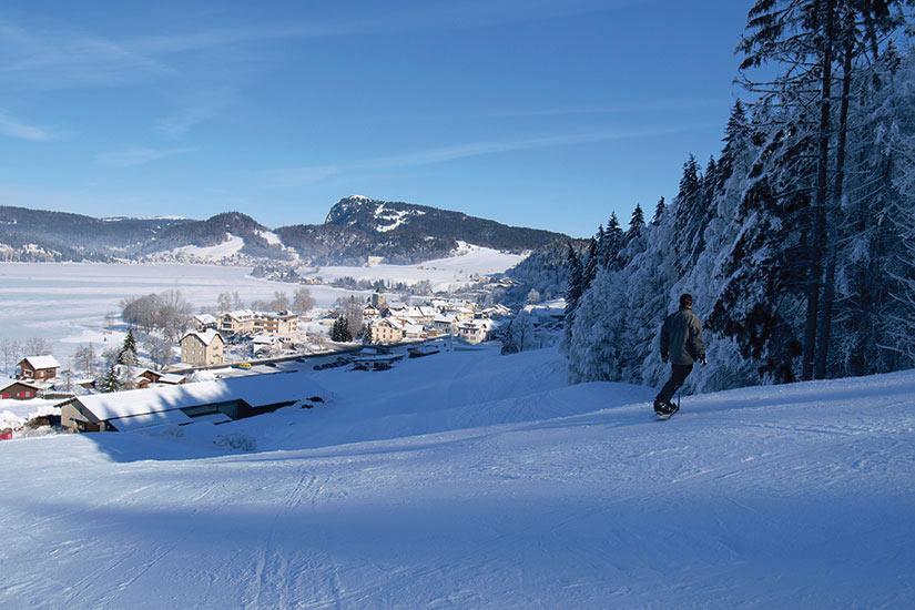 image France Jura snowborder  fo