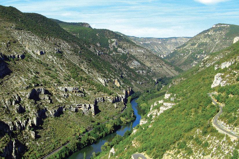 image France Occitanie Gorges du Tarn  fo